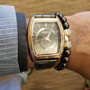Awearness Kenneth Cole Rose gold watch